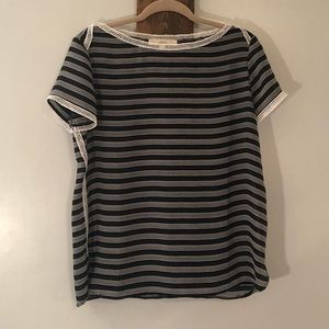 Short sleeve blouse by Loft, Size small